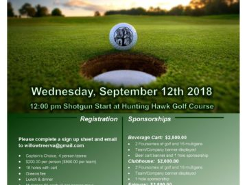 The 6th Annual Logan Wyatt Friends Golf Tournament – September 12, 2017